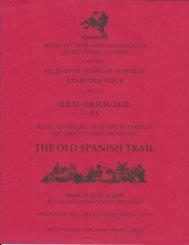 6010 HEMI XX - The Old Spanish Trail