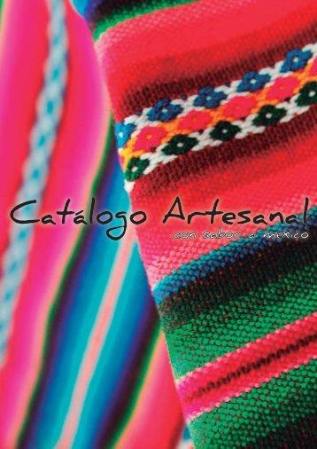 CATÁLOGO ARTESANAL
