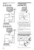 Sony KDL-32P5500 - KDL-32P5500 Istruzioni per l'uso Croato - Page 6