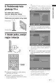 Sony KDL-32P5500 - KDL-32P5500 Istruzioni per l'uso Croato - Page 7