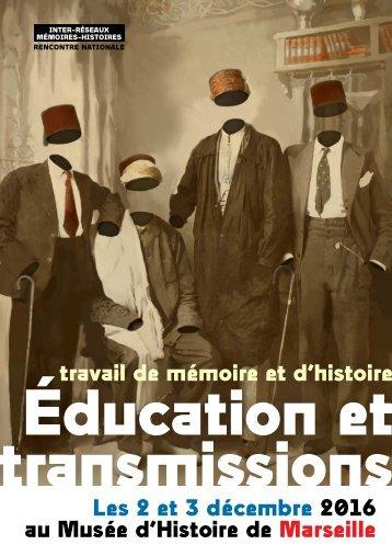 Éducation et ransmissions