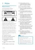 Philips Fidelio Enceinte sans fil SoundRing - Mode d'emploi - POL - Page 4