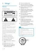 Philips Fidelio Enceinte sans fil SoundRing - Mode d'emploi - SWE - Page 4