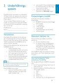 Philips Fidelio Enceinte sans fil SoundRing - Mode d'emploi - SWE - Page 7