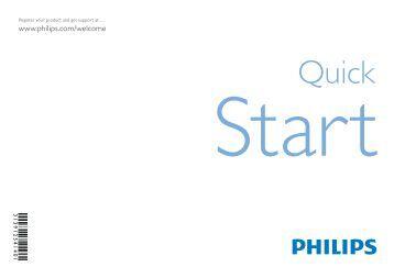 Philips TV LCD - Guide de mise en route - DEU