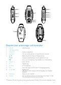 Philips GoGear Baladeur audio à mémoire flash - Mode d'emploi - SWE - Page 4
