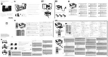 Philips Microchaîne - Guide de mise en route - ITA