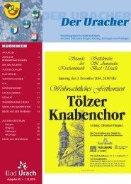Der Uracher KW 48-2016