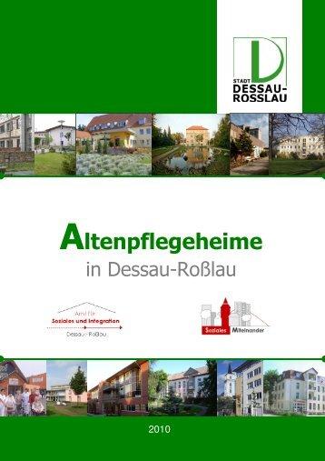 Altenpflegeheime 2010 V2 - Dessau-Roßlau