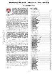 Friedeberg / Neumark – Einwohner-Listen von 1924 - Woldenberg ...