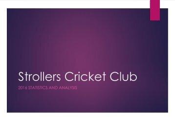 Strollers Cricket Club