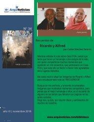 e-AN 34 N° 2 Recuerdos de Ricardo y Alfred por el arq. Carlos Sanchez Saravia