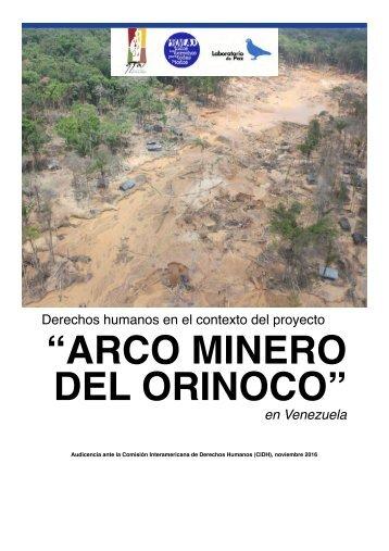 """""""ARCO MINERO DEL ORINOCO"""""""