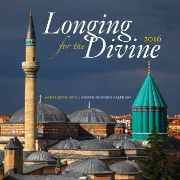 "2016 ""Longing for the Divine"" Calendar"