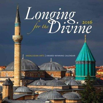 "2016 ""Longing for the Divine"" Calendar"