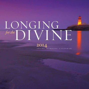 "2014 ""Longing for the Divine"" Calendar"