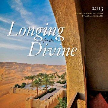 "2013 ""Longing for the Divine"" Calendar"