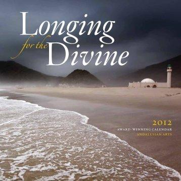 "2012 ""Longing for the Divine"" Calendar"
