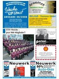 Auflage: 3500 Exemplare / kostenlos - ETSV Weiche