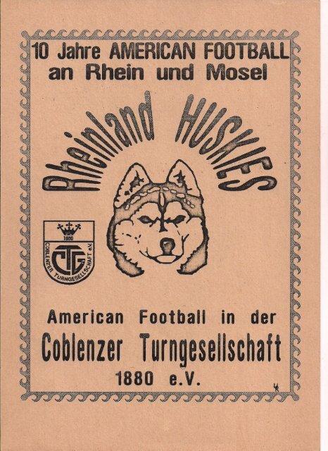 Koblenz Huskies Aktuell 1994