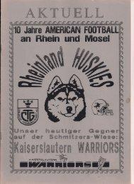 Huskies Aktuell Nr.1 - 1994