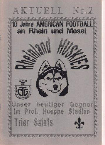 Huskies Aktuell Nr.2 - 1994
