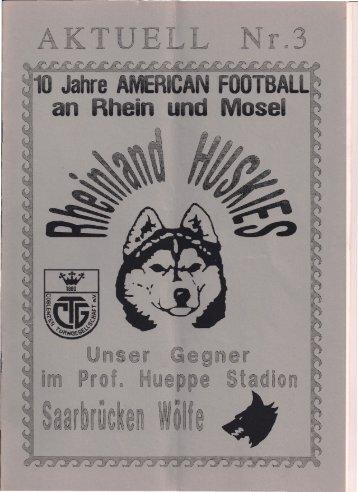 Huskies Aktuell Nr.3 - 1994