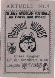 Huskies Aktuell Nr.4 - 1994