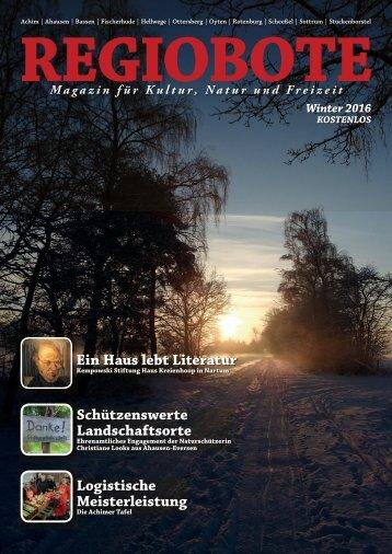 Regiobote Winter 2016