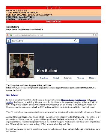 S – C – I – A Ken Bullard