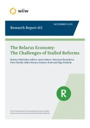 The Belarus Economy The Challenges of Stalled Reforms