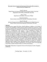 Working Paper – November 12 2016
