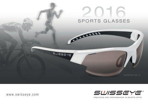 Swiss Eye Sportbrille *HORIZON* Red Matt//Black