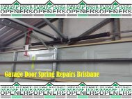 Garage Door Spring Repairs Brisbane