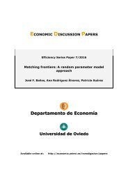 ECONOMIC DISCUSSION PAPERS