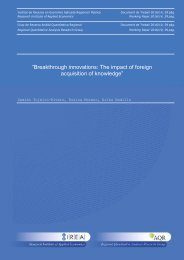 """Breakthrough innovations The impact of foreign acquisition of knowledge"""