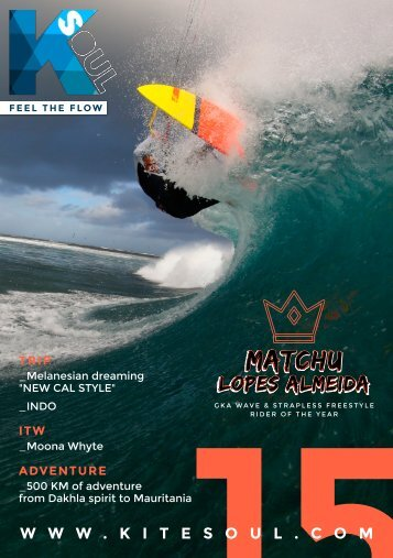 Kitesoul Magazine #15 English Edition