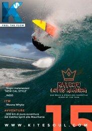 Kitesoul Magazine #15 Edizione Italiana