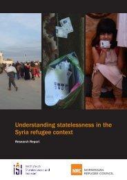 Syria refugee context