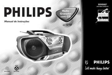 Philips Lecteur de CD - Mode d'emploi - BRP