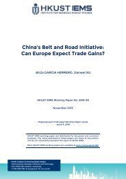 China's Belt and Road Initiative Can Europe Expect Trade Gains?