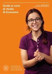 Guida ai corsi di studio di Economia