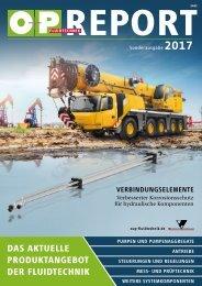 O+P Fluidtechnik REPORT 2017
