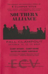 6007 Fall Clampout, Camp Hyder-Camp Horn History