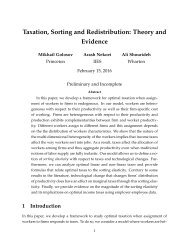 assignment heterogeneous productivity notion Furthermore elasticity