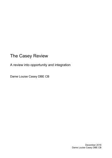 The Casey Review