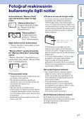 Sony DSC-WX1 - DSC-WX1 Istruzioni per l'uso Turco - Page 3