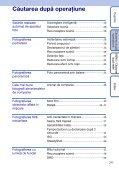Sony DSC-WX1 - DSC-WX1 Istruzioni per l'uso Rumeno - Page 7