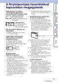Sony DSC-WX1 - DSC-WX1 Istruzioni per l'uso Ungherese - Page 3