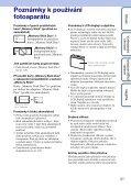 Sony DSC-WX1 - DSC-WX1 Istruzioni per l'uso Ceco - Page 3